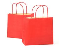 Two shopping bags Stock Image