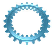 Two-sided Glass Cogwheel Stock Images