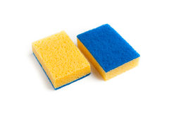Two-sided sponge Royalty Free Stock Photo