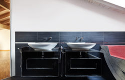 Two sinks Royalty Free Stock Images