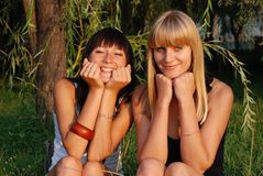 Free Two Sisters Stock Images - 10706124