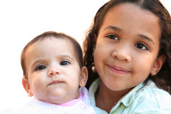 Two Sisters Royalty Free Stock Photography
