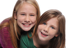 Two sisters Stock Photography