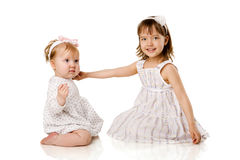 Two Sisters Royalty Free Stock Photos