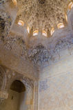 Two sisters hall in alhambra. Of granada, Granada, Andalusia, Spain Stock Image