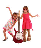 Two sisters having fun Stock Image