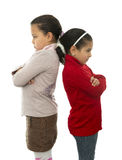 Two Sisters in Quarrel Royalty Free Stock Image