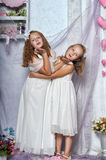 Two sisters Stock Image