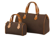 Two size of handbags Royalty Free Stock Photography