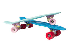 Two skate board on a white background. Two skateboard on a white background mint and blue Royalty Free Stock Photography