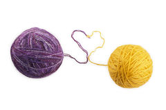 Two skeins Stock Photo