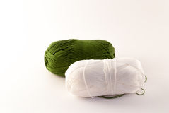 Two skeins yarn Royalty Free Stock Photo