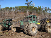 Two Skidders Stock Photography