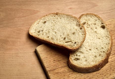 Two sliced bread Royalty Free Stock Image
