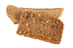 Two slices of bread Royalty Free Stock Photography