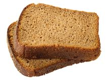 Two slices of bread Royalty Free Stock Image