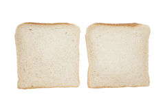 Free Two Slices Of Bread Isolated Royalty Free Stock Photos - 90791108