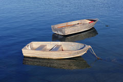 Two small Boats Royalty Free Stock Photos