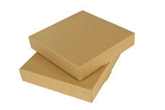 Two small boxes Stock Image