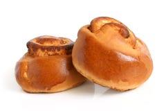 Two small buns Stock Photos