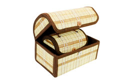 Two small chests of handwork Stock Photo