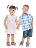 Two small children Royalty Free Stock Photography