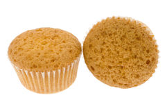 Two small fruitcakes Royalty Free Stock Image