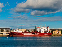 Two small LPG vessels Royalty Free Stock Photos