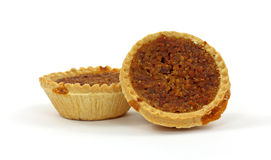 Two Small Pecan Pies Royalty Free Stock Photo