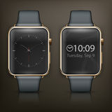 Two smart watch Royalty Free Stock Images