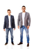 Two smile young business men Stock Photos