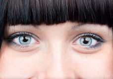 Free Two Smiling Eyes Royalty Free Stock Photography - 12694907