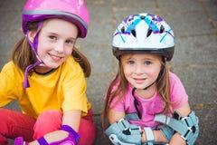 Two smiling kids Stock Image