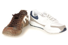 Two sneakers Royalty Free Stock Image