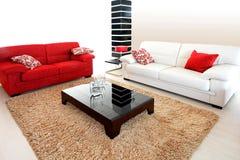 Two sofas Royalty Free Stock Photos