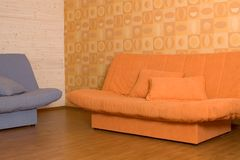 Two Sofas stock images