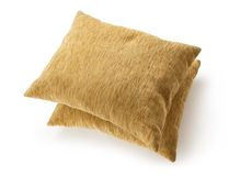 Two soft pillows Royalty Free Stock Photography