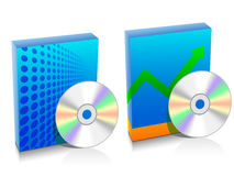 Two software box Royalty Free Stock Photo