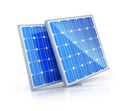 Two solar panel Stock Photos