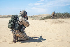 Two soldiers Stock Photo