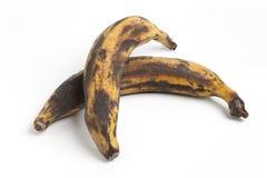 Two South American bananas, tajadas Royalty Free Stock Photo