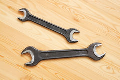 Two spanners Royalty Free Stock Images