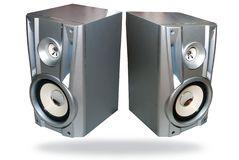 Two speaker Royalty Free Stock Photos