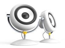 Two Speaker Stock Image
