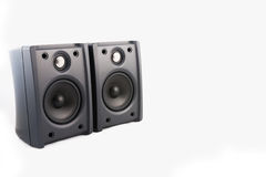 Two Speaker in isolated. Speaker in white isolated background Stock Image
