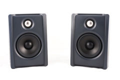 Two Speaker in isolated Stock Image