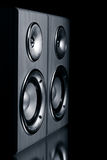Two speaker systems Royalty Free Stock Photography