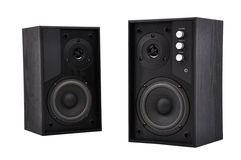 Two speakers Stock Photography