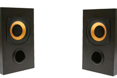 Two speakers Royalty Free Stock Photo