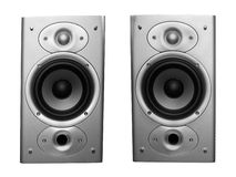 Two speakers Stock Photos